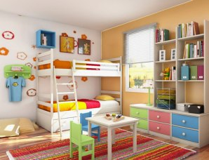 a children's room